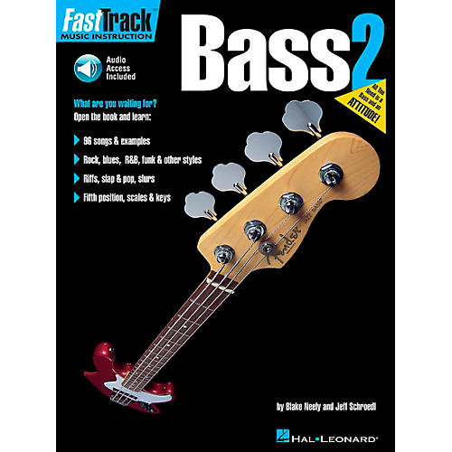 Hal Leonard FastTrack Bass Method Book 2