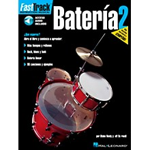 Hal Leonard FastTrack Drum Method Book 1 Book/CD - Spanish Edition