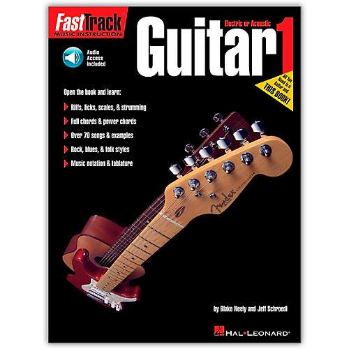 Hal Leonard FastTrack Guitar Method Book 1 CD Package