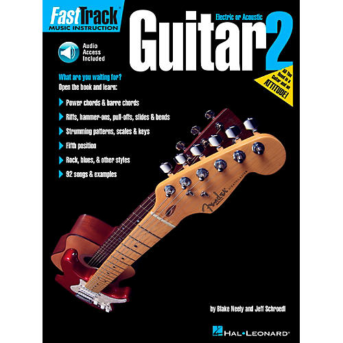 Hal Leonard FastTrack Guitar Method Book 2 (CD and Book)-thumbnail