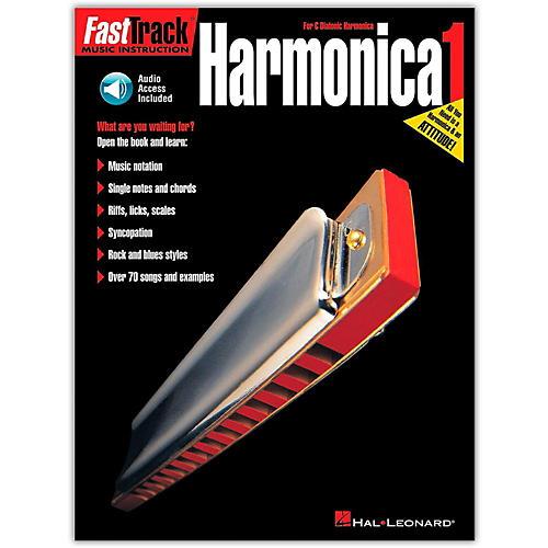 Hal Leonard FastTrack Harmonica Method (Book/Online Audio)