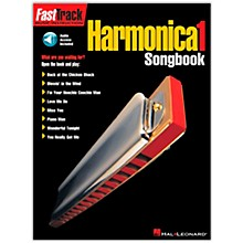 Hal Leonard FastTrack Harmonica Songbook - Level 1 Book with CD