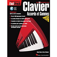 Hal Leonard FastTrack Keyboard Chords & Scales - French Edition Fast Track Music Instruction BK/CD