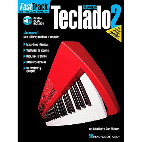 Hal Leonard FastTrack Keyboard Method Book 2 Book/CD - Spanish Edition-thumbnail
