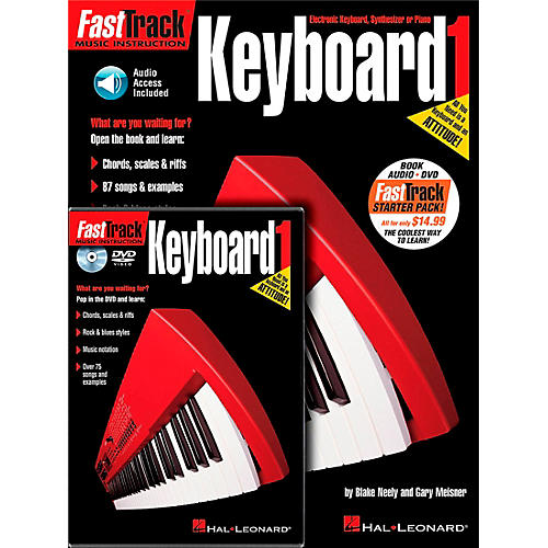 Hal Leonard FastTrack Keyboard Method Starter Pack (Book/Online Media)-thumbnail