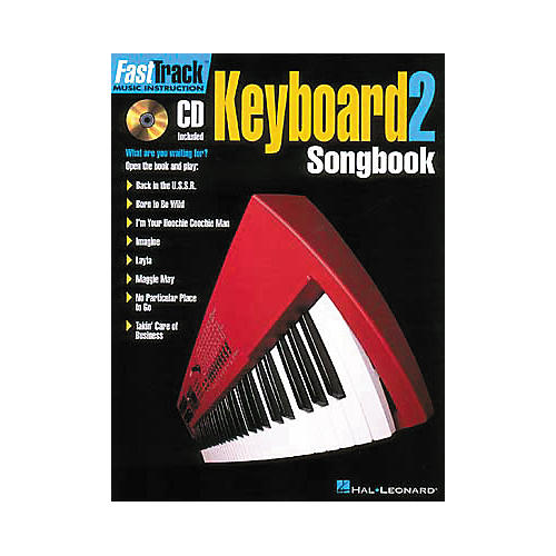 Hal Leonard FastTrack Keyboard Songbook 1 - Level 2 (Book and CD Package)