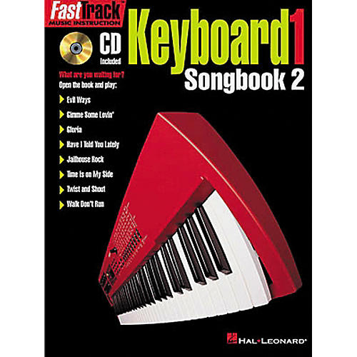 Hal Leonard FastTrack Keyboard Songbook 2 - Level 1 Book with CD-thumbnail