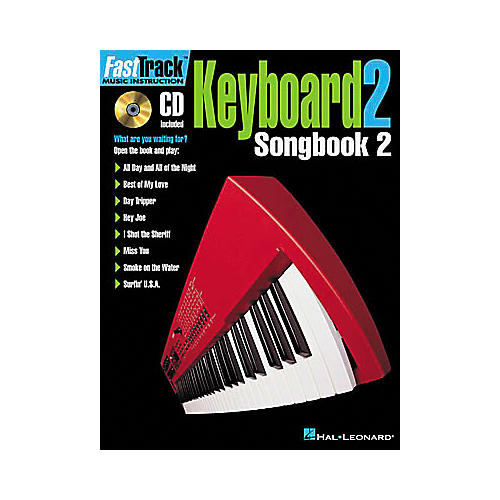 Hal Leonard FastTrack Keyboard Songbook 2 - Level 2 Book/CD