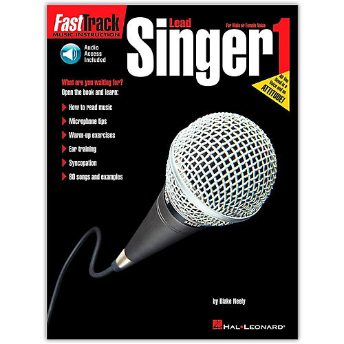 Hal Leonard FastTrack Lead Singer Method - Book 1 (Book/Online Audio)