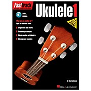 Hal Leonard FastTrack Ukulele Method Book 1 Book/CD