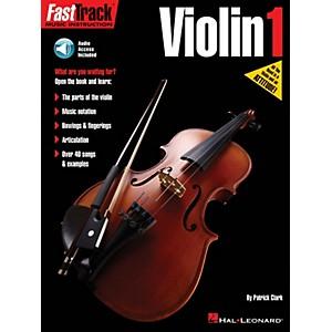 Hal Leonard FastTrack Violin Method Book 1 Fast Track Music Instruction Sof...
