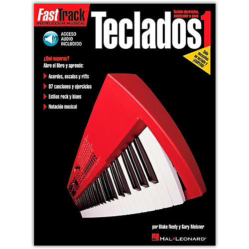 Hal Leonard Fasttrack Keyboard Method Book 1 - Spanish Edition (Book/Online Audio)-thumbnail