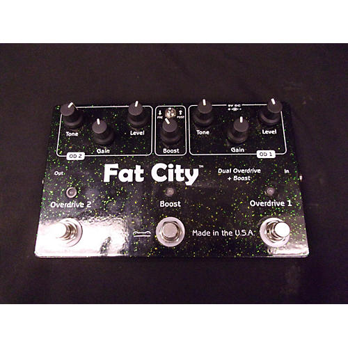 Toadworks Fat City Effect Pedal