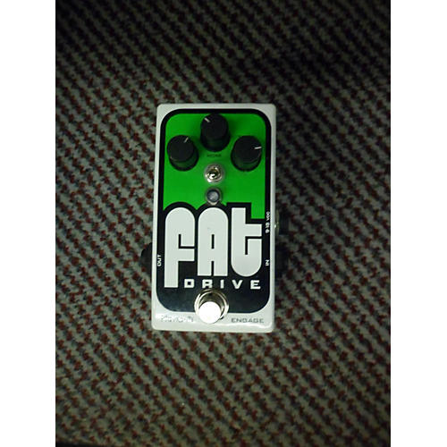 Pigtronix Fat Drive Tube Sound Overdrive Effect Pedal-thumbnail