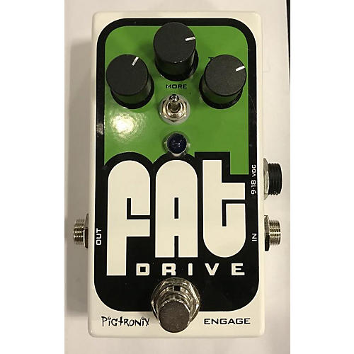 used pigtronix fat drive tube sound overdrive effect pedal guitar center. Black Bedroom Furniture Sets. Home Design Ideas
