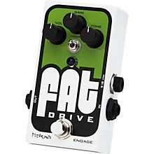 Pigtronix Fat Drive Tube-Sound Overdrive Guitar Effects Pedal Level 1