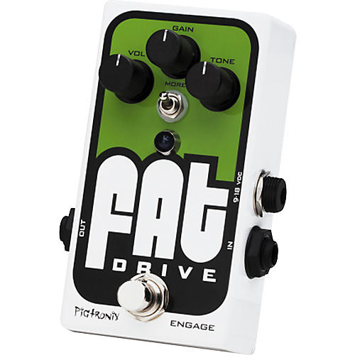 Pigtronix Fat Drive Tube-Sound Overdrive Guitar Effects Pedal-thumbnail