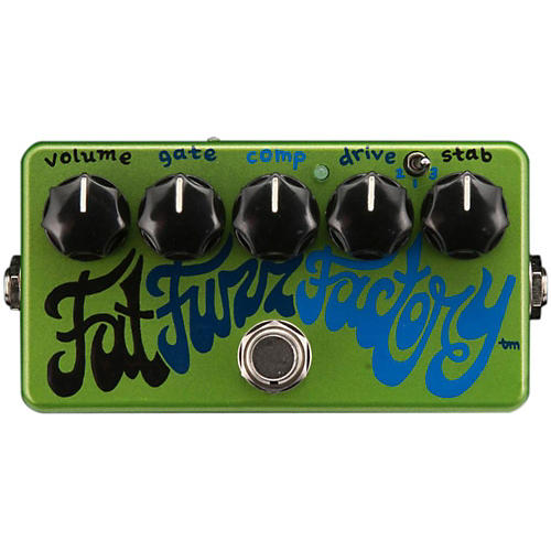 Zvex Fat Fuzz Factory Hand Painted Guitar Effects Pedal-thumbnail