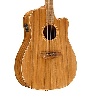 Cole Clark Fat Lady 2 Series Australian Eco Blackwood Dreadnought Acoustic-...