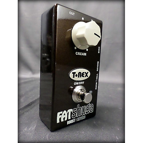 T-Rex Engineering Fat Shuga Boost With Reverb Effect Pedal-thumbnail