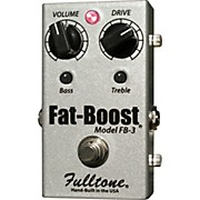Fulltone FatBoost 3 FB-3 Guitar Effects Pedal