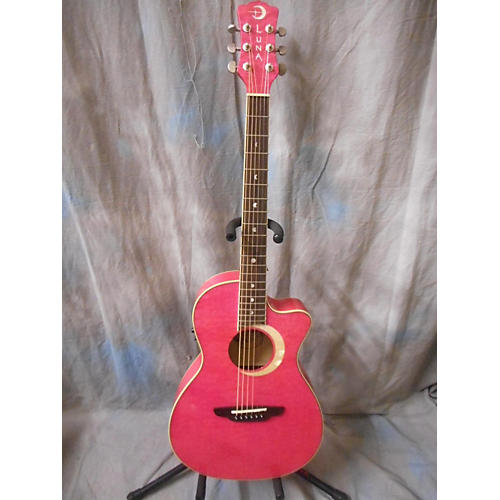 Luna Guitars Fau-ECL Fauna Acoustic Electric Guitar-thumbnail