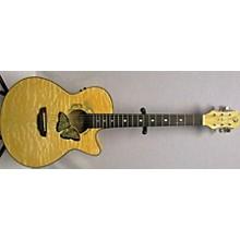 Luna Guitars Fauna Butterfly Acoustic Electric Guitar