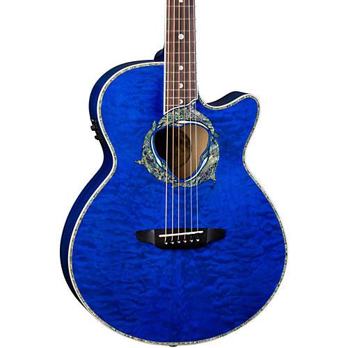 Luna Guitars Fauna Dolphin Acoustic-Electric Guitar-thumbnail