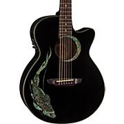 Luna Guitars Fauna Folk Acoustic-Electric Guitar