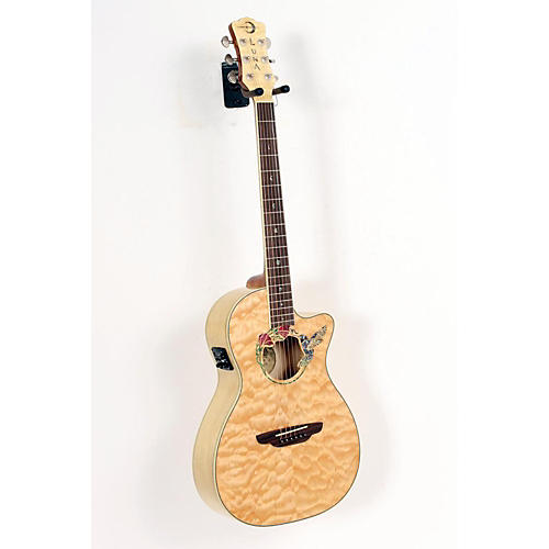 Luna Guitars Fauna Hummingbird Parlor Acoustic-Electric Guitar-thumbnail