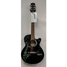 Luna Guitars Fauna Phoenix Acoustic Electric Guitar