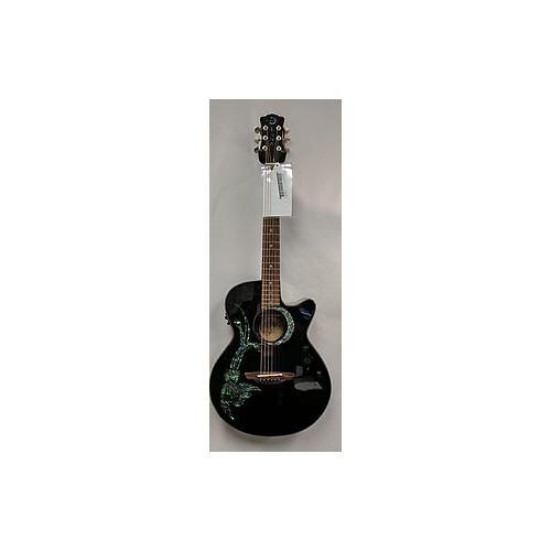 Luna Guitars Fauna Phoenix Acoustic Electric Guitar-thumbnail