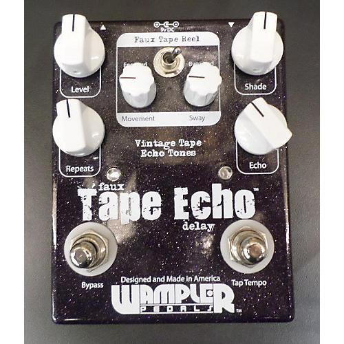 Wampler Faux Analog Echo Delay Effect Pedal