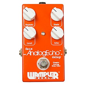 Wampler Faux Analog Echo/Delay Guitar Effects Pedal by Wampler