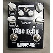 Wampler Faux Tape Echo Delay Effect Pedal