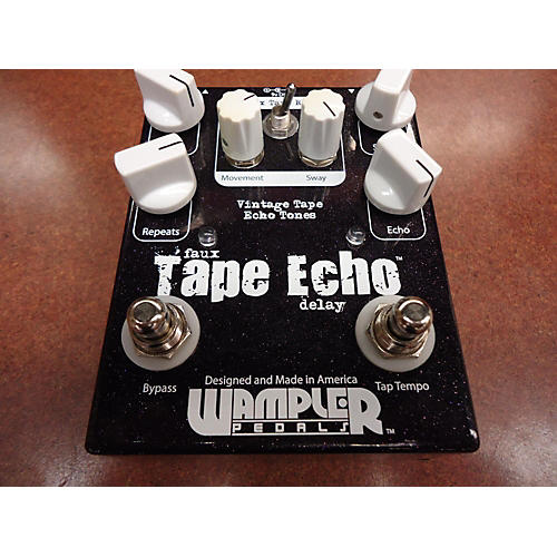 Used Wampler Faux Tape Echo Delay Effect Pedal