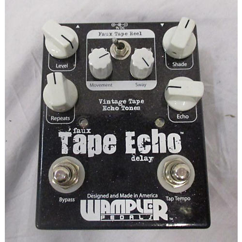 Wampler Faux Tape Echo Delay Effect Pedal