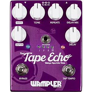 Wampler Faux Tape Echo Delay Pedal by Wampler