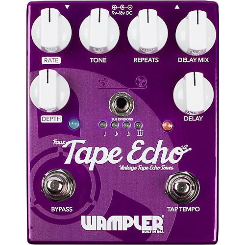 wampler faux tape echo delay pedal guitar center. Black Bedroom Furniture Sets. Home Design Ideas