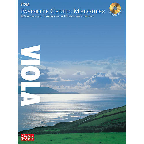 Hal Leonard Favorite Celtic Melodies For Viola Book/CD-thumbnail