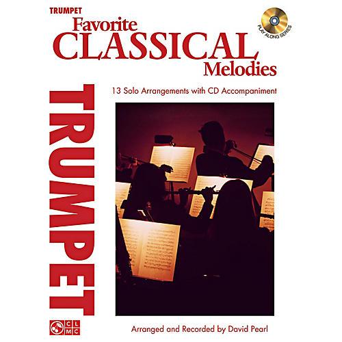 Cherry Lane Favorite Classical Melodies - Book/CD Trumpet