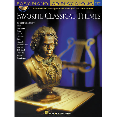 Hal Leonard Favorite Classical Themes Easy Piano CD Play-Along Volume 2 Book/CD-thumbnail