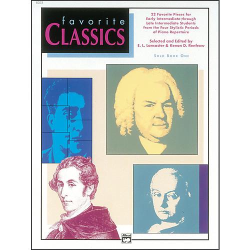 Alfred Favorite Classics Solo Book 1 Solo Book 1
