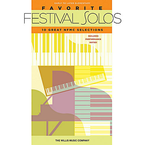 Willis Music Favorite Festival Solos - 10 Great NFMC Selections (Early To Later Elementary Level)-thumbnail