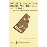 Music Sales Favorite Folksongs, Ballads and Spirituals for Autoharp Music Sales America Series