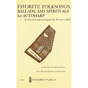 Music Sales Favorite Folksongs, Ballads and Spirituals for Autoharp Music S... by Music Sales