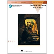 Hal Leonard Favorite German Art Songs High Voice Book/CD