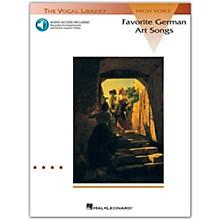 Hal Leonard Favorite German Art Songs High Voice Book/CD