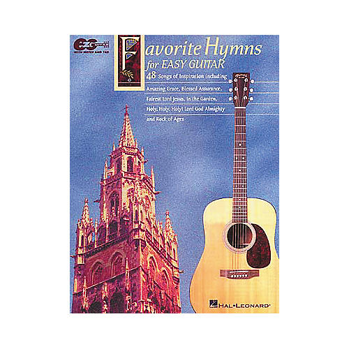 Hal Leonard Favorite Hymns for Easy Guitar Tab Book