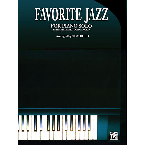 Alfred Favorite Jazz for Piano Solo-thumbnail